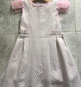 Нарядное платье размер 110-116