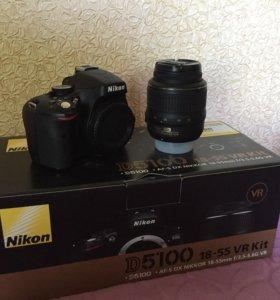 Фотоаппарат зеркальный Nikon D5100 Kit 18-55