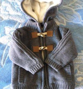 Куртка детская вязанная осень-весна
