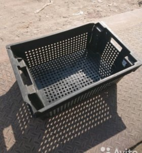 Пластиковые ящики бу