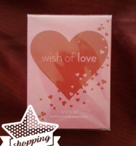 ☝️AVON: аромат Wish of love