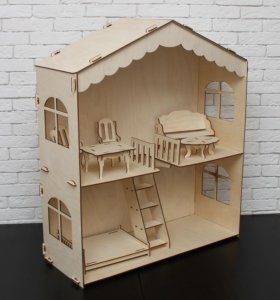 Домик для кукол - Теремок