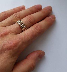 Золотое кольцо мягкое 7.09гр