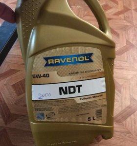 Масло RAVENOL 5w-40 NDT