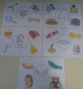 Карточки-5 органов чувств