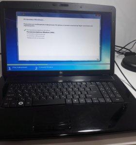 Игровой ноутбук с full HD 17 матрицей