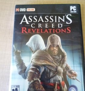 Диск с игрой Assasin's Creed Revelations
