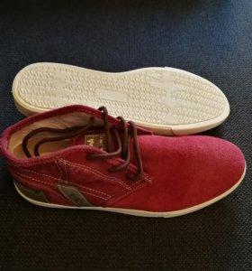 Мужские ботинки из натуральной замши 42 р