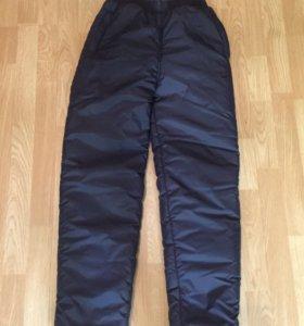 Зимние дутые штаны