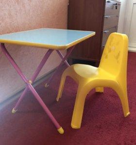 Столик и стул деские