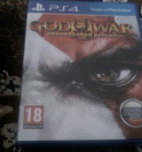 "Игра на Play Station 4""god of war 3 remastered"""