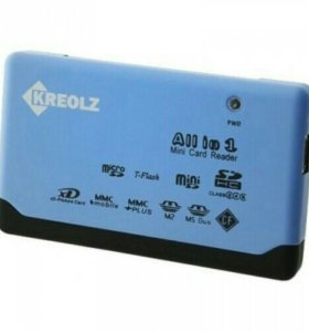 Картридер (USB 2.0, все виды карт)