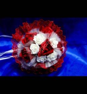 Красный букет-дублёр для Невесны