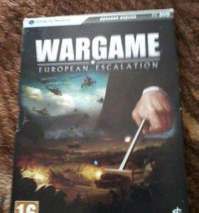 Игра WARGAME практически новая .