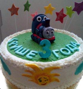 Детские тортики с любимыми героями