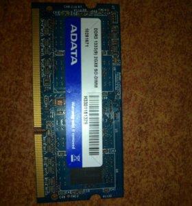 Оперативная память DDR 3 1333 Mhz 2 Gb