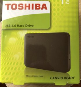Внешний жёсткий диск 1 ТБ