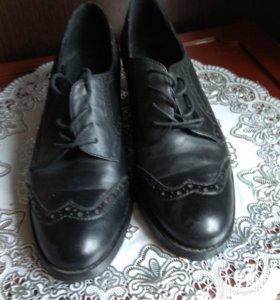 Туфли жен. Кожа