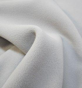 9.7 м. Полар для худи, светло-серый отрез ткани