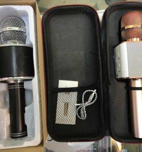 Микрофон-караоке с блютуз