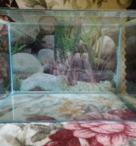 аквариум 72л новый