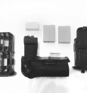 Батарейный блок BG-E8, два аккумулятора LP-E8