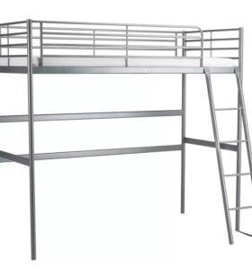 Кровать - чердак Икеа Тромсо