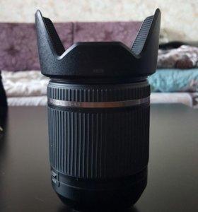 Объектив Tamron 18-200mm на Nikon