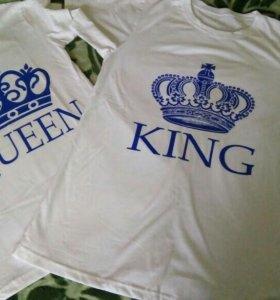 Набор футболок муж и жена