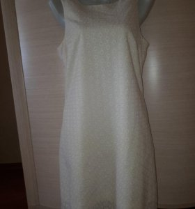 Платье INCYTI беж-молочное 44-46 500 руб