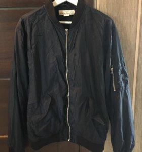 Мужская куртка (бомбер) H&M. Размер L