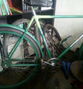 Велосипед и запчасти