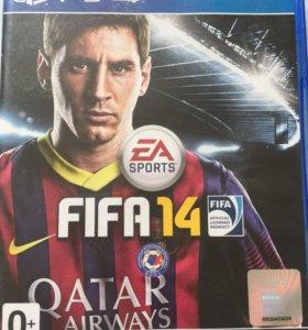 Диск FIFA 14 для Ps 4