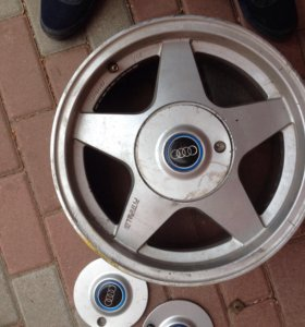 Литые диски Р15 4/108 стояли на Ауди Б4