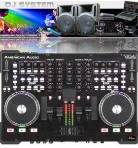 American Audio VMS 4.1 DJ контроллер