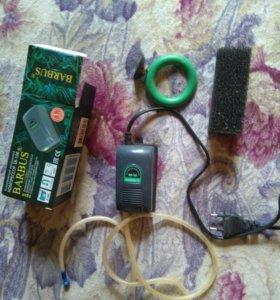 Воздушный компрессор,губка на фильтр