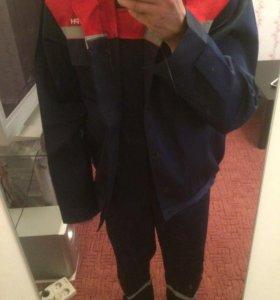 Продаётся летний костюм из смесовой ткани Балтекс