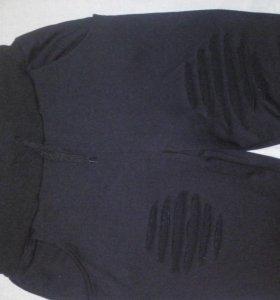 Модные спортивные брюки разрезами р-р 44