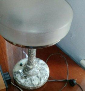 Антикварная Лампа СССР мрамор