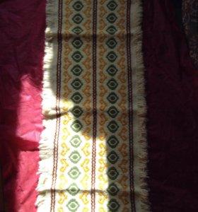 Салфетка винтаж ГДР плотная тканное полотно