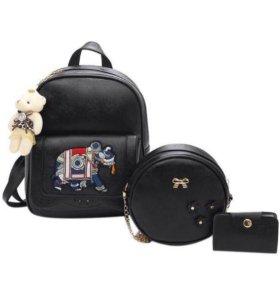‼️Новые Рюкзак, сумочка, визитница‼️