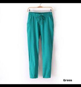 Новые шифоновые брюки