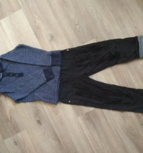 Лонг-поло (кофта) и штаны 98-104