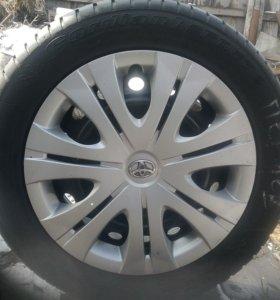 Комлект колес (резина cordian sport 2  летняя R16)