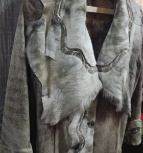 Куртка кожа, замша