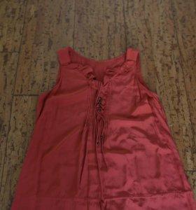 Платье шёлковое massimo dutti размер 48-50