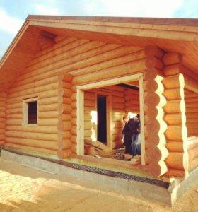 Срубы. Строительство Домов и Бань из Сосны