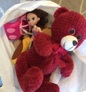 2 пакета игрушек