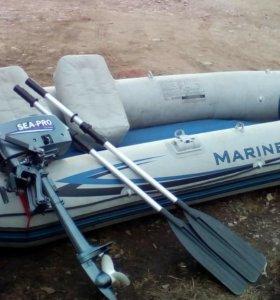 Лодка+ мотор