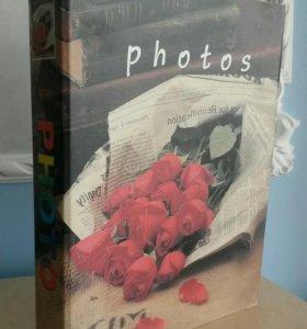 Фотоальбом на 300 фотографий 10х15 (новый)